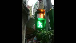 台湾の歩行者用信号.