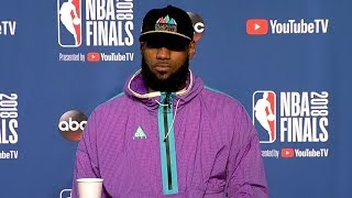 LeBron James Postgame Interview - Game 3 | Warriors vs Cavaliers | June 6, 2018 | 2018 NBA Finals