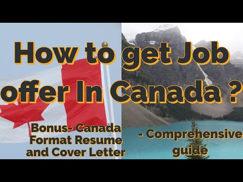 How To Get A Job In Canada For New Immigrants ? Successful Techniques - Detailed Version