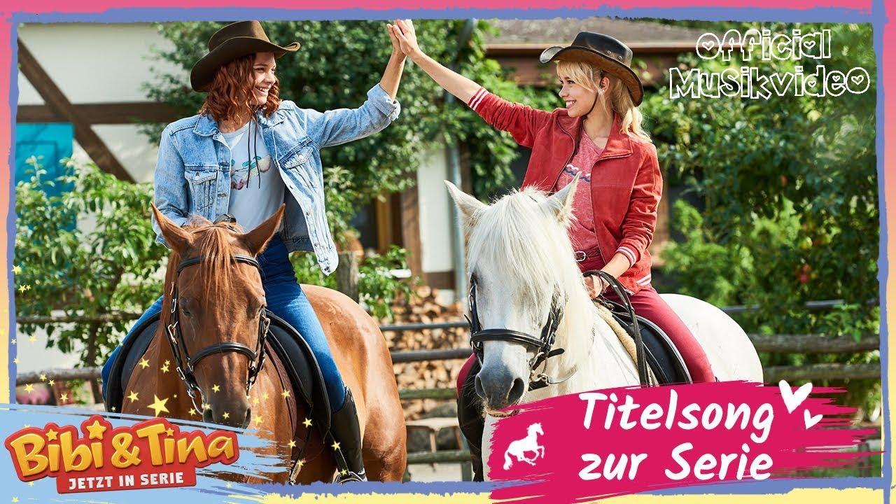Bibi & Tina - Die Serie - TITELSONG / Intro zur Serie / ab April 8 bei  Prime Video!