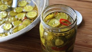 Bread & Butter Pickles - How to Make Great Depression-Style Sweet Pickles