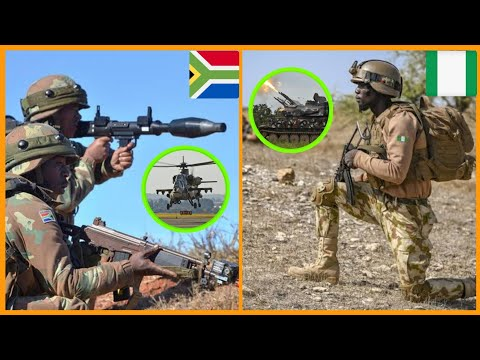 South Africa VS Nigeria Army Who Wins ? Military Power 2020, Strength & Weapons Comparison