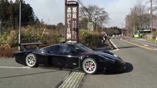 Maserati MC12 Corsa On Street in japan!