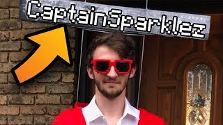 He Dressed As CaptainSparklez For Halloween