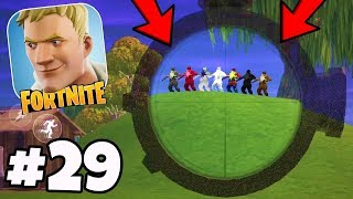 V4.0 est SUPER Buggy! NOUVEAU Glitches, Bugs, Mobile Hackers! - Fortnite Mobile Battle Royale #29