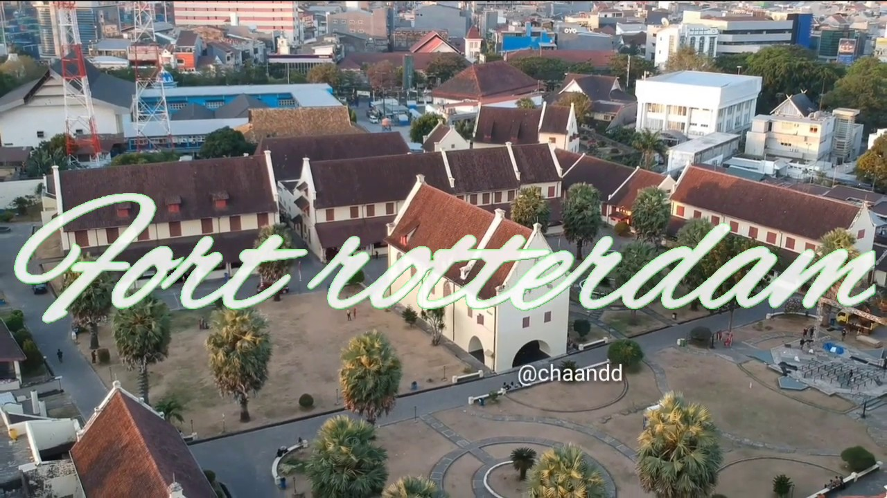 Sejarah benteng Fort Rotterdam Makassar