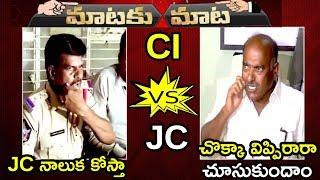 CI Gorantla Madhav Vs JC Diwakar Reddy    Mataku Mata    Telugu Latest News    Tollywood Book