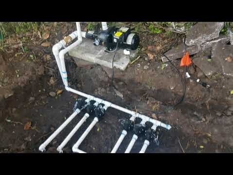 Irrigation Well Pump And Sprinkler System Install - Update