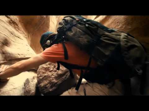 127 Hours Movie Clip - Aron falls into a canyon