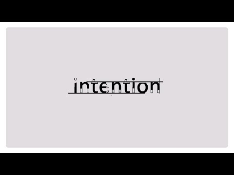 Apple text animation After Effects tutorial / Intention part 2