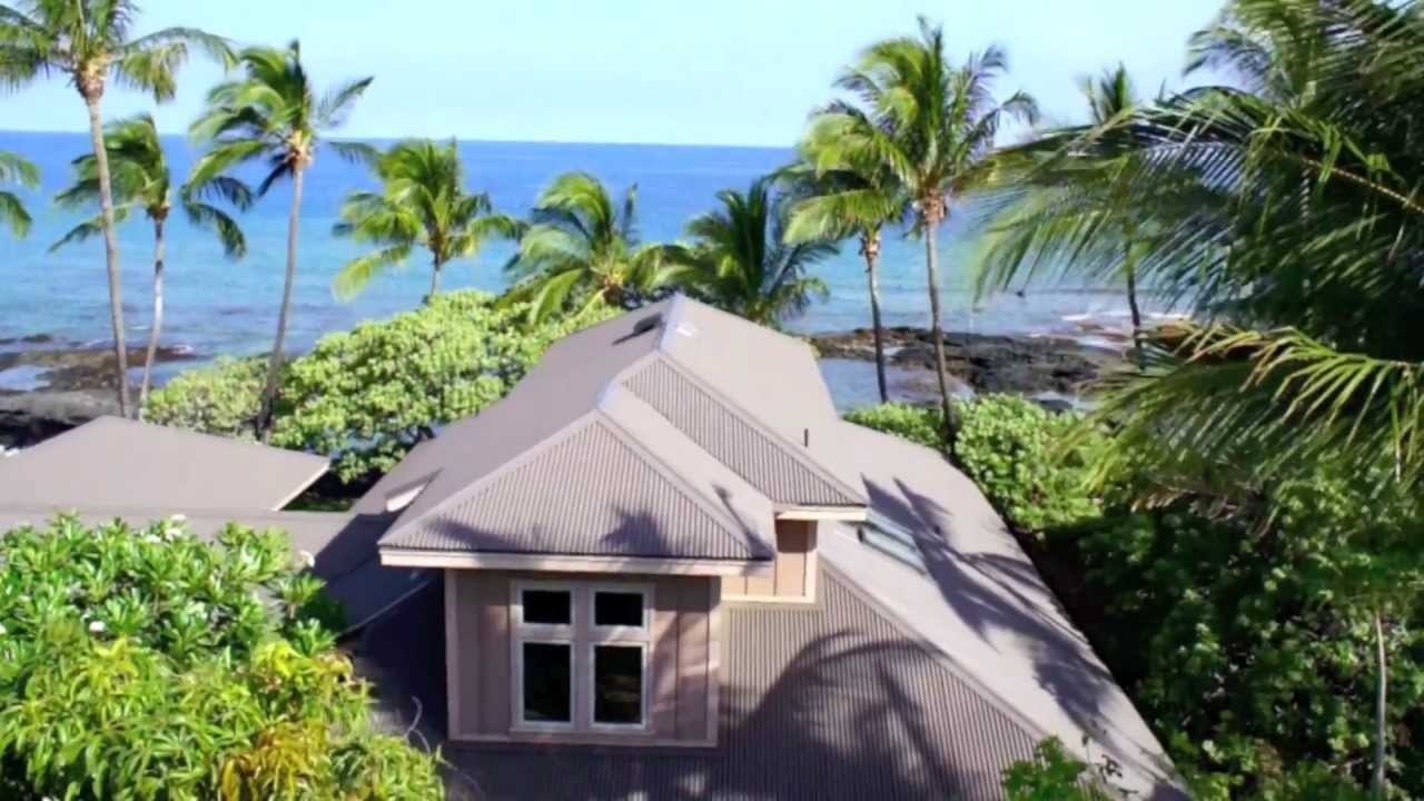 Oceanfront Luxury Property For Sale Big Island Hawaii Youtube