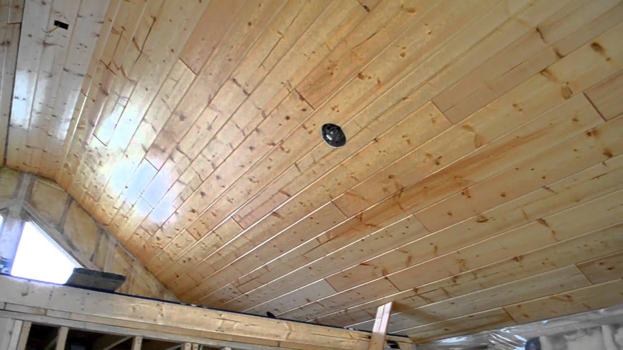 Bedroom T&G Ceiling - YouTube