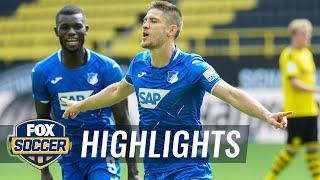 Hoffenheim Qualify For Europa League W/kramaric's 4 Goals Vs Dortmund | 2020 Bundesliga Highlights