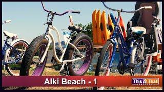Visiting Alki Beach