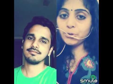 ഹൃദയ ഗീതം ♥ ♥ Best Malayalam Smule Duet Video - Gopika Vasantham - Soumya, Hrishikesh