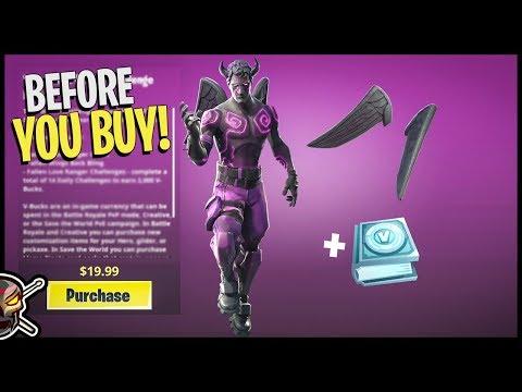 Fallen Love Ranger Challenge Pack - Before You Buy - Fortnite thumbnail