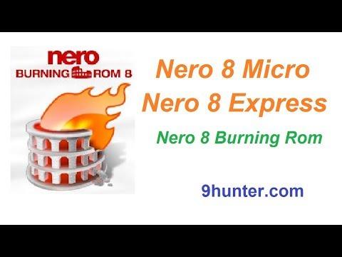 วิธีติดตั้ง Nero 8 Micro, Nero 8 Express, Nero 8 Burning Rom