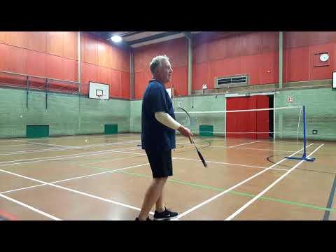 Badminton 18.4.18: Szymon & Simon vs Paul & Martin
