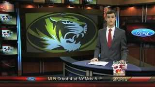 "Clayton Conness KOMU-TV 8 ""Sports Anchoring March 19, 2014"""