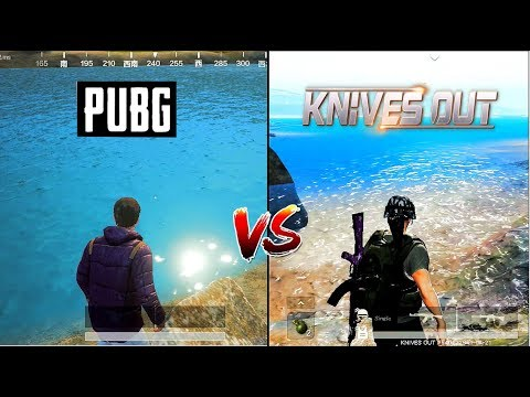 NEW! PUBG Mobile VS Knives Out Updated Comparison (Android) 2018