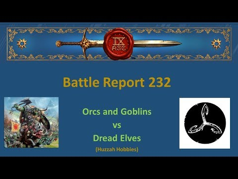 The 9th Age Battle Report 232