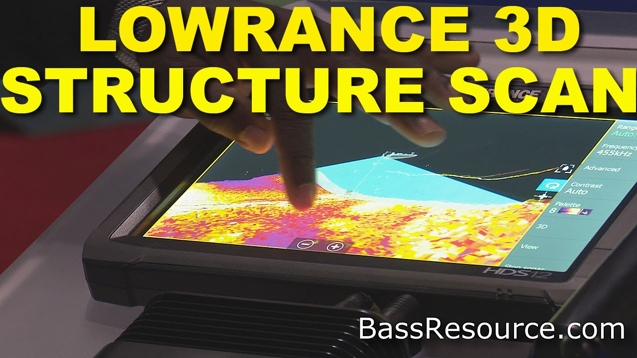lowrance 3d structurescan fishfinder | bass fishing - youtube, Fish Finder