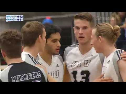 VIU Mariners vs. Camosun Chargers - PacWest Men's Volleyball - Oct. 21, 2016
