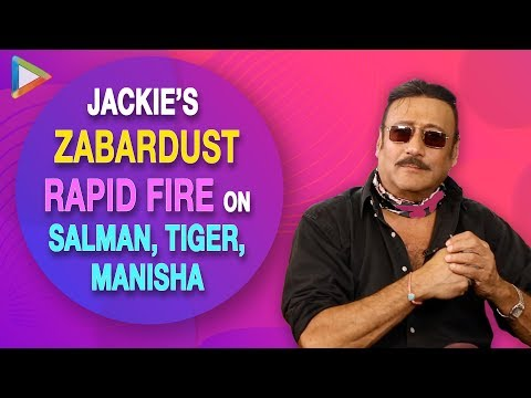 """Salman Khan has Grown Up Looking At Me"": Jackie Shroff's EPIC Rapid Fire 