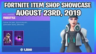 PEAU FREESTYLE 'NEW'! (Fortnite Item Shop 23 août)