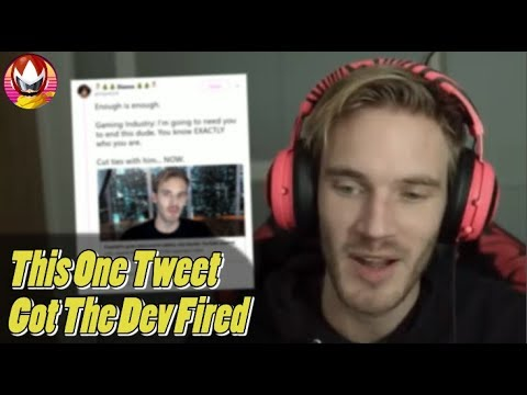 PewDiePie Threatened by Developer on Twitter? thumbnail