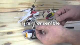 comment réparer helicoptere telecommande