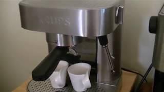 KRUPS XP6010 Pump Espresso Machine {+1} KRUPS XP6010 Pump Espresso Machine Review!+