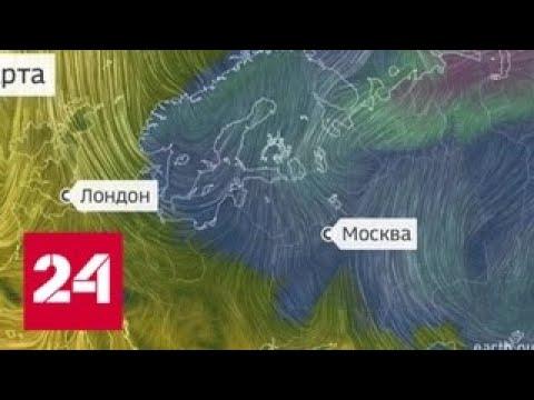 В Россию вернулась зима - Россия 24