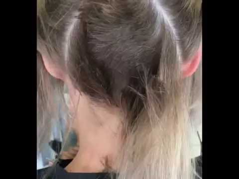 Hair Makeover , Long to Undercut Bob Haircut