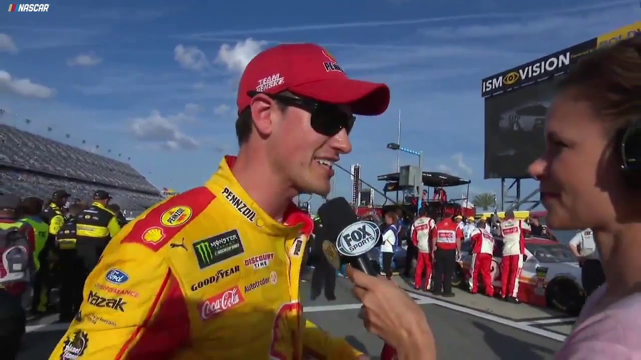 Joey Logano surprised there weren't more wrecks