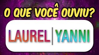 YANNI OU LAUREL, LAUREL VS YANNI - AUDIO ORIGINAL