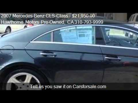 2007 Mercedes Benz Cls Class Cls550 Coupe For Sale In