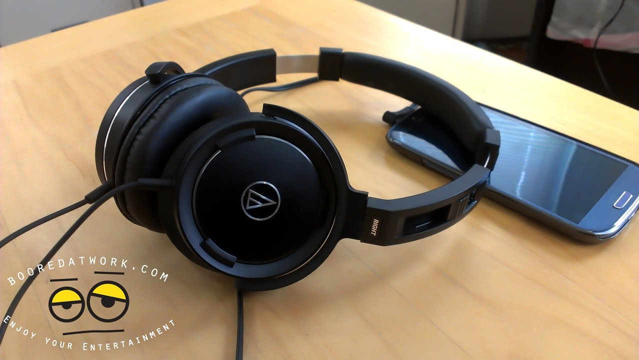 Audio Technica Ath Ws550is Solid Bass Headphones Black Red Update Ws990bt Hi Res Bluetooth Headphone Merah Ws55 Review Great With Crisp Sound Youtube