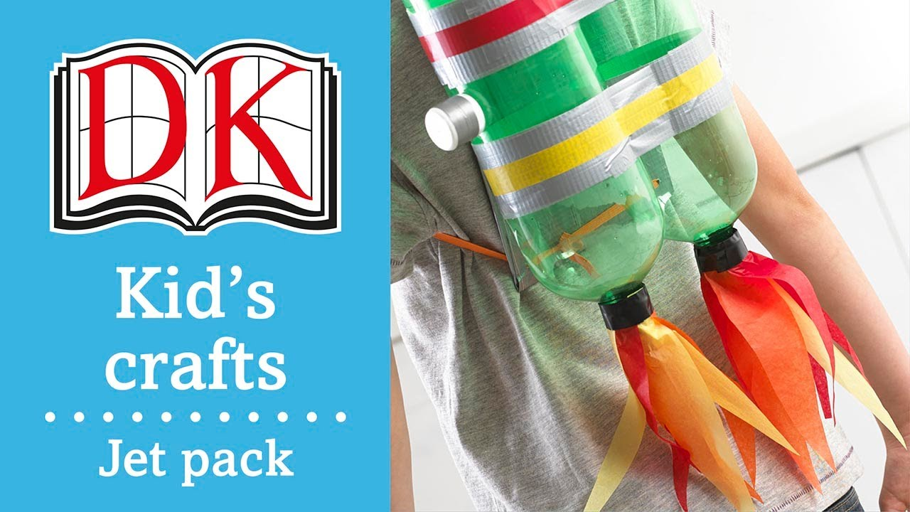 Fun Kids' Craft: How to Make a Jet Pack - YouTube