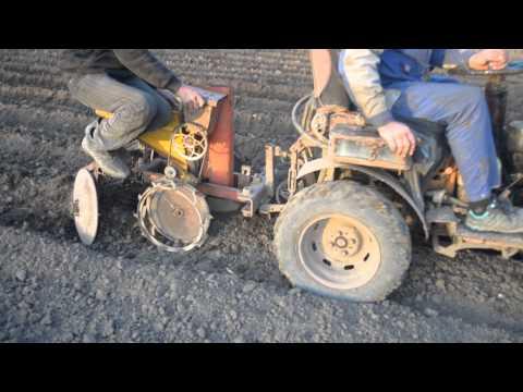 Мотоблок МТЗ 09Н, ремонт ручного стартера.