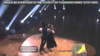 Chelsea Kane & Mark Ballas dancing with the stars Viennese Waltz