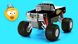 Monster Trucks Videos For Children | Educational Cartoons for Children by Bambo-Jambo