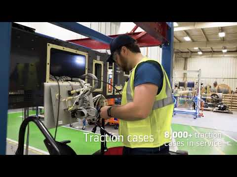 Alstom in the US: local train components capabilities