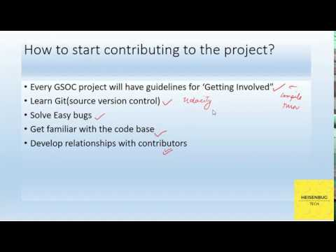 How to start contributing to an open source project?
