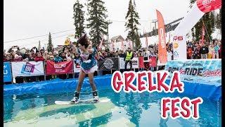 GRELKA FEST 2018 Спуск в Карнавальных костюмах. Первое путешествие с малышкой