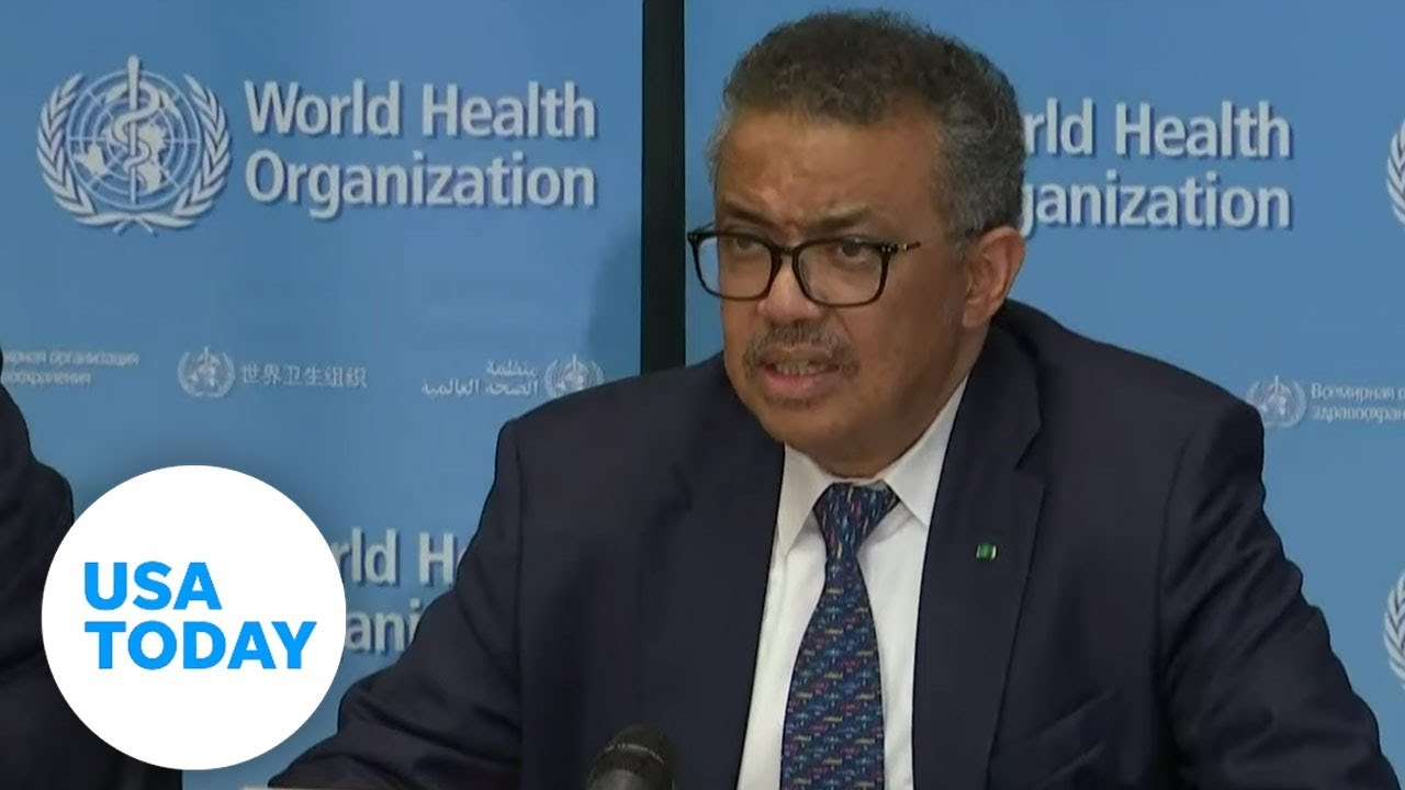 WHO delivers briefing on coronavirus | USA TODAY