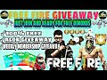 💎5000 DIAMOND + DJ ALOK Give Away ,RANDOM  PICKER, CUSTOM ROOM Give Away FOR ALL JOIN BY Subscribe💎💎