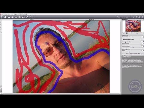 Удаления фона на фото с помощью AKVIS SmartMask