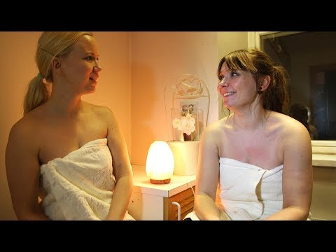 Irina ja Johanna saunakeskustelu: AntiGravityn jälkilöylyt