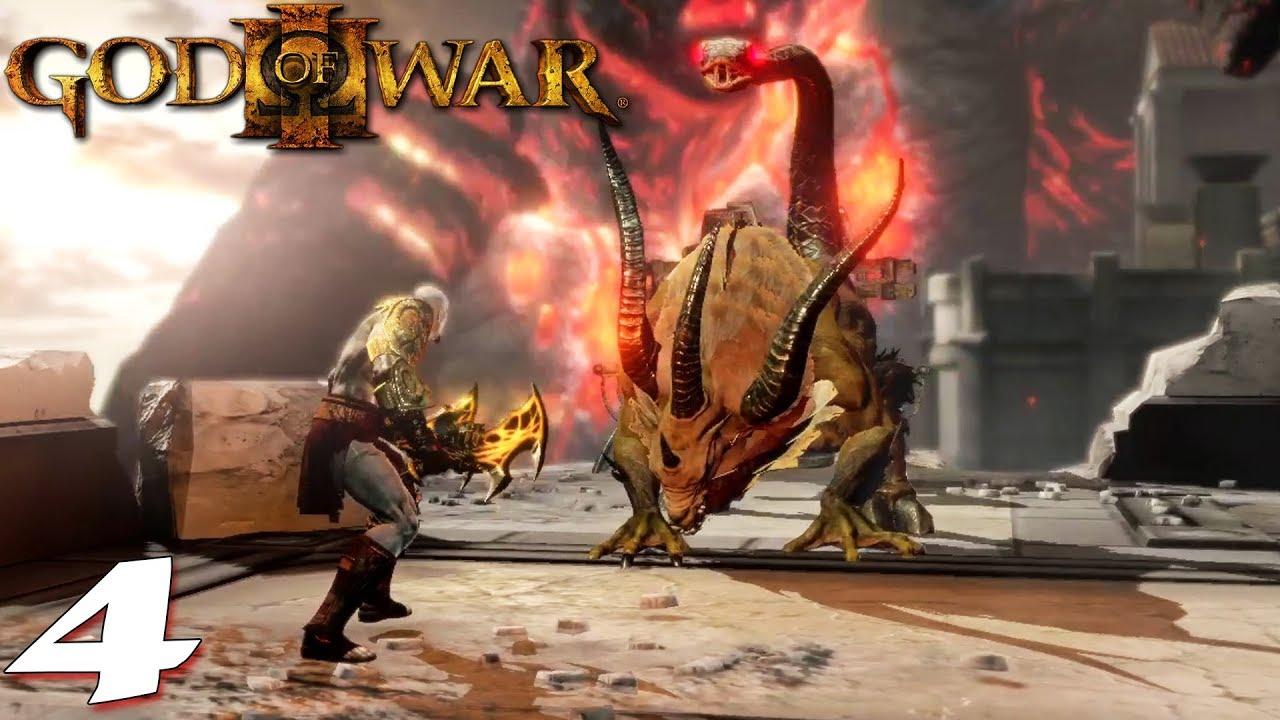 តោកន្ទុយក្បាលពស់ - God of War III #04 Khmer